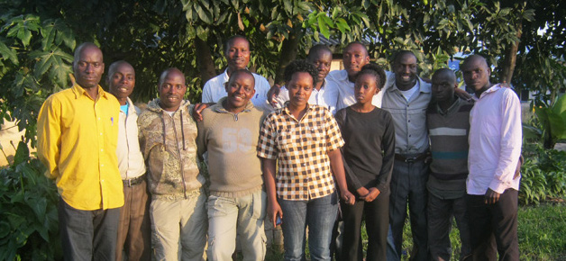 Muhisimbi Volunteer Guides 2013